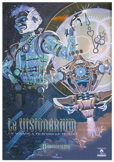 le visionarium affiche de l'attraction