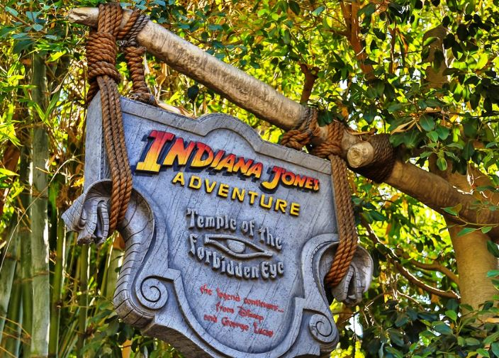 indiana jones adventure temple of the forbidden eye