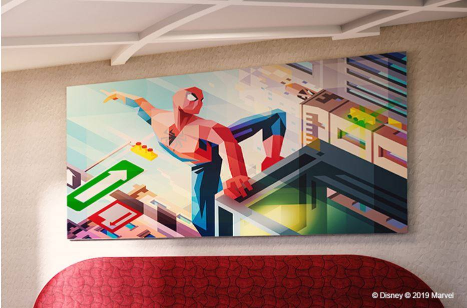 hôtel New York the art of Marvel