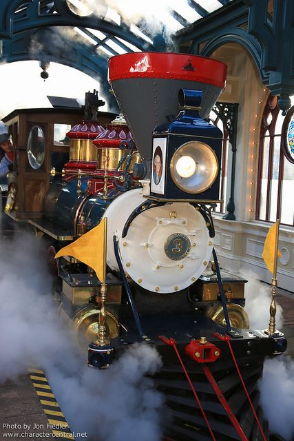 train walt disney