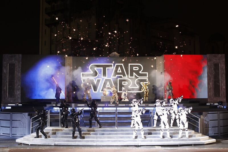 Star Wars Célébration Galactique Walt Disney Studios Disneyland Paris