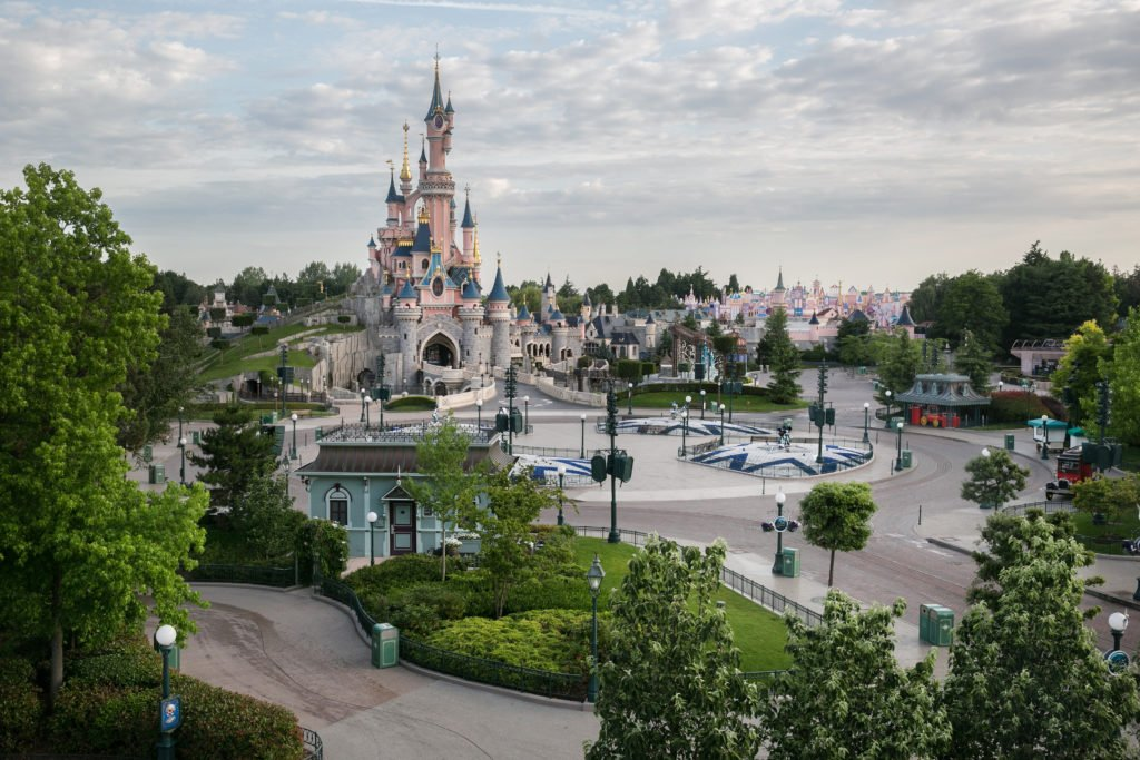 jardin Disneyland Paris