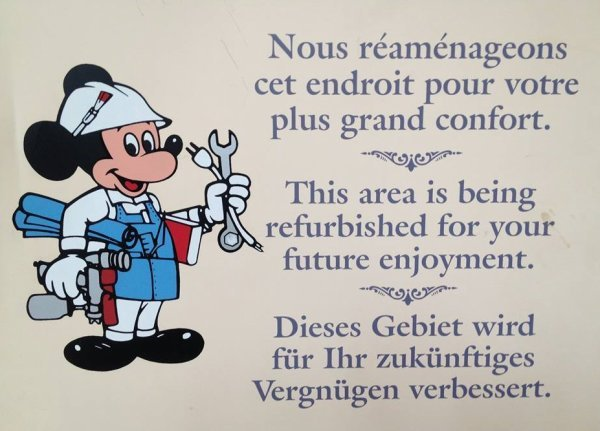 fermetures disneyland paris