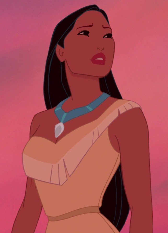 princesses disney pocahontas