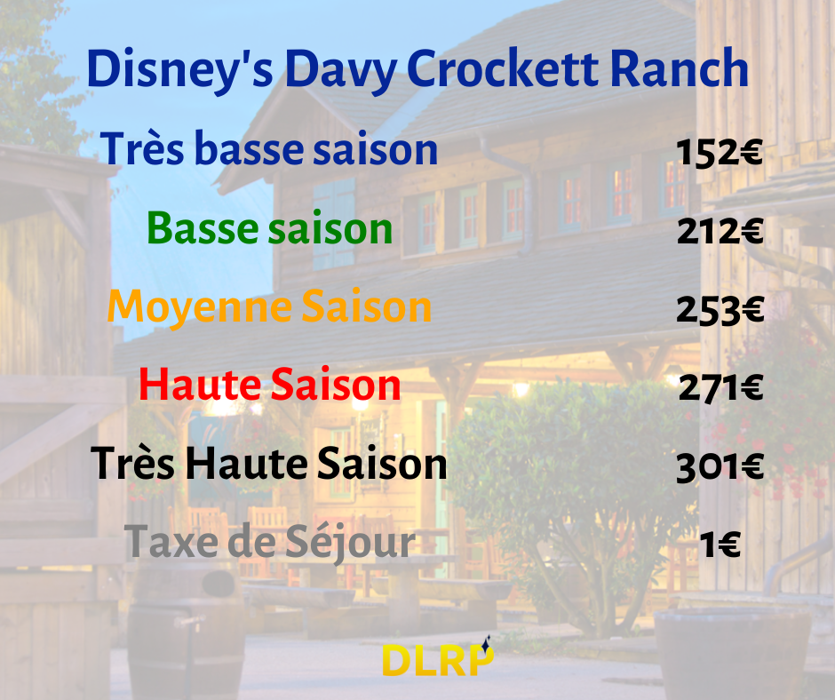 disney davy crockett ranch tarif