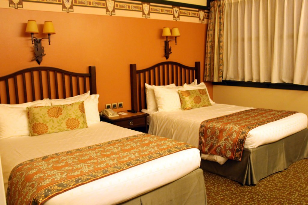 disney sequoia lodge chambre