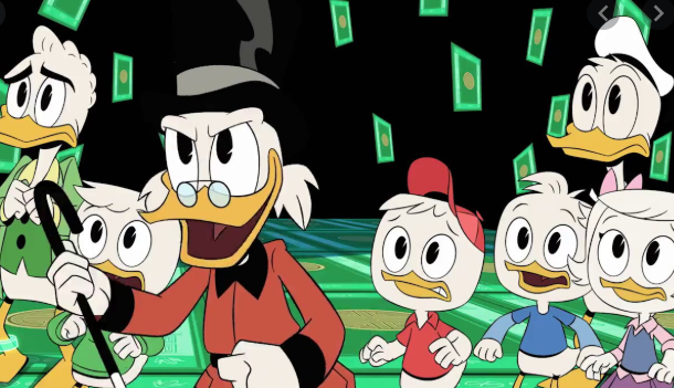 famille donald duck